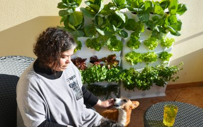 In the kitchen garden with… Joana Lobato